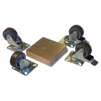 Top Quality Lockable Swivel Castor Kit