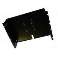 8u 19 inch adjustable  monitor mounting plate