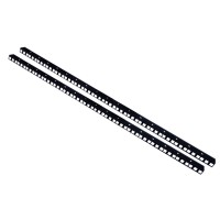 18U RACK STRIP RAILS PAIR