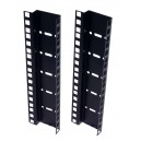 6U DOUBLE HOLE RACK STRIP