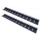 12U DOUBLE HOLE RACK STRIP