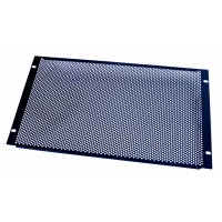 6U 19 inch Perforated blanking  panel.