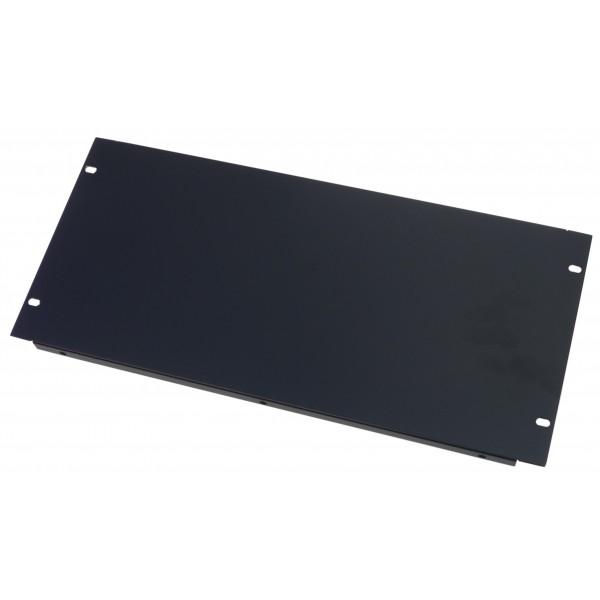 3U Rack Panel 19 inch Folded Blank Panel in Black