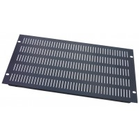 5U rack panel 19 inch Vented  slotted folded