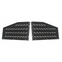4U Pair Vented Rack Shelf  EARS 300mm