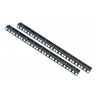 9 U RACK STRIPS PAIR