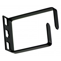 1U single loop cable management bracket 60mm