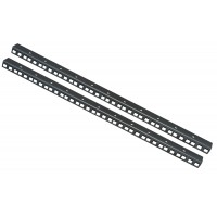 12U RACK STRIP RAILS PAIR