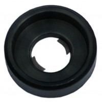 100 M6 Nylon Black Rack Cage Cup Washer