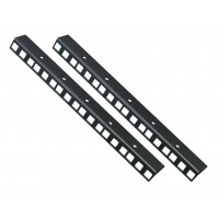 6U RACK STRIP Rail Bars PAIR