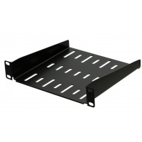 1U 9.5 inch Half-Rack Vented Rack Shelf 200mm deep