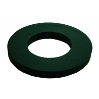 100 M6 Black Nylon Washers 11.8mm O/D 1.61 thickness