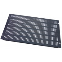6U 19 inch Vented  slotted blanking  panel.