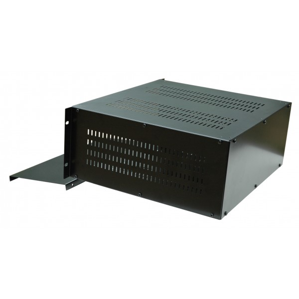 Rack Mount Enclosures : U inch mm rack mount vented enclosure chassis case