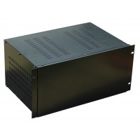 5U 19 inch 300mm rack mount vented enclosure chassis case