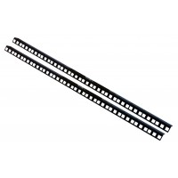 13U RACK STRIP RAILS PAIR