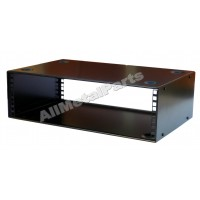 3u 19 inch 200mm deep stackable cabinet