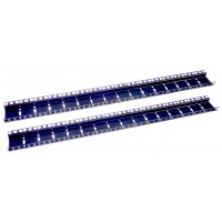 24U DOUBLE HOLE RACK STRIP PAIR
