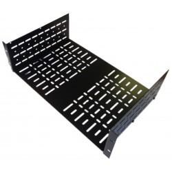 4U 19 inch Standard Vented Rack Shelf 390mm Deep