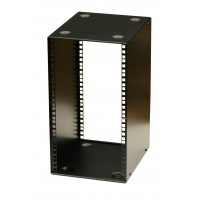 12U 10.5 inch Half-Rack 200mm Stackable Rack Cabinet