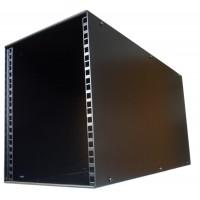 7U 9.5 inch Half-Rack 600mm Stackable Rack Cabinet