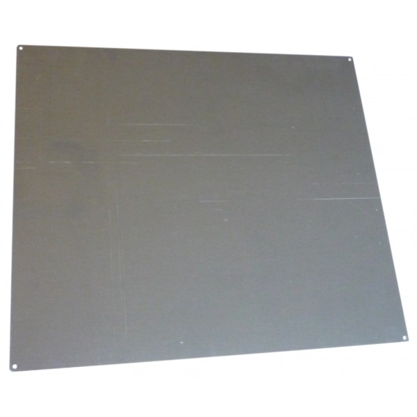 2mm aluminium heat sink mounting plate for 390mm chassis