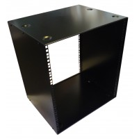 12U 19 inch 400mm Deep Stackable Rack Cabinet