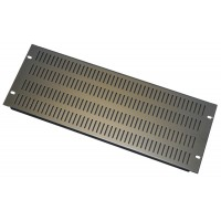 4U 19 inch Vented  slotted blanking  panel.