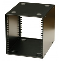 6U 9.5 inch Half-Rack 200mm Stackable Rack Cabinet
