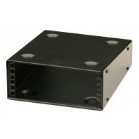 2U 9.5 inch Half-Rack 200mm Deep Stackable Rack Cabinet