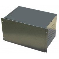 6U 19 inch 300mm rack mount non vented top and Bottom enclosure chassis case