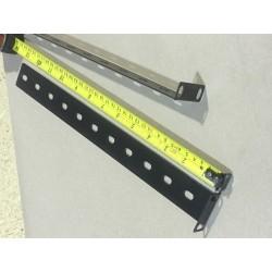 1U Rack Shelf  Rear support ears 345mm