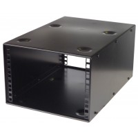 4U 10.5 inch Half-Rack 400mm Stackable Rack Cabinet