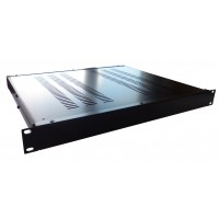 1U 19 inch 390mm rack mount vented enclosure chassis case