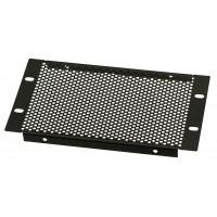 3U 10.5 inch Half-Rack Perforated Vented Blank Panel