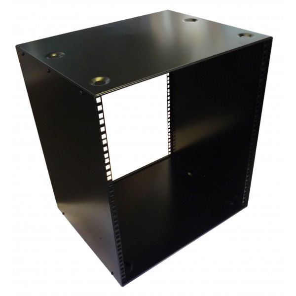 16u 19 Inch 400mm Deep Stackable Rack Cabinet Allmetalparts