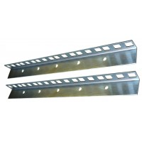 6U RACK STRIP ZINC PLATED 24 x 19mm