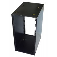 16U 10.5 inch Half-Rack 400mm Stackable Rack Cabinet