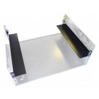 1U Rack  Shelf  Bracket Pair for 400mm cabinets