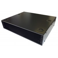 1u 19 inch stackable cabinet 400mm deep
