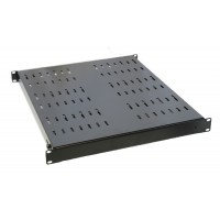 1U 19 inch Adjustable Server Rack Shelf  530mm to 970mm