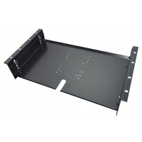 6u 19 inch adjustable  monitor mounting plate