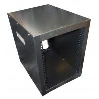 "8u 10.5"" Half Rack cabinet 435mm deep with handles"