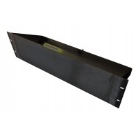 3U 19 inch Rack Tray Battery holder 160mm deep with earth stud