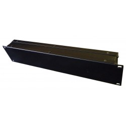 2U 19 inch rack mount 50mm non vented enclosure chassis case