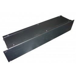 2U 19 inch rack mount 100mm non vented enclosure chassis case