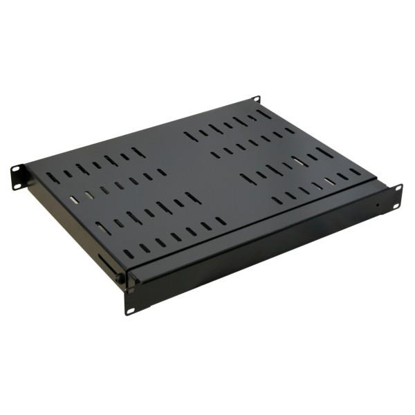 1u 19 adjustable rack shelf 325mm 594mm. Black Bedroom Furniture Sets. Home Design Ideas
