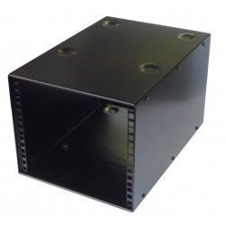 6U 10.5 inch Half-Rack 400mm Stackable Rack Cabinet