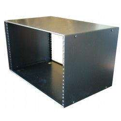 5u Rack Cabinet Flat top Raised base 300mm deep 19 inch