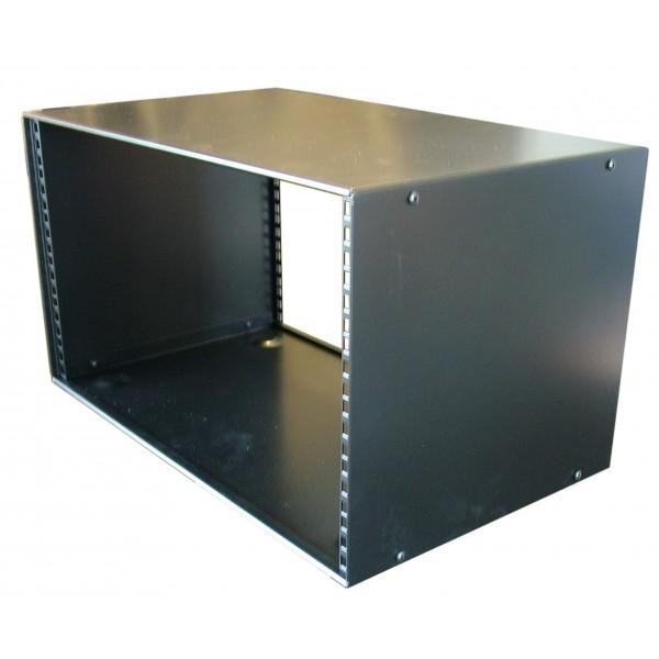 5u Rack Cabinet Flat Top Raised Base 300mm Deep 19 Inch